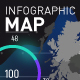Infographics Map - VideoHive Item for Sale