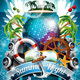 Vector Summer Beach Party Poster Design