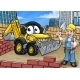 Construction Building Site Scene - GraphicRiver Item for Sale