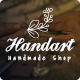 HandArt - Opencart 3 Theme for Handmade Artists and Artisans