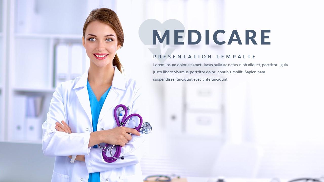 Medicare Multipurpose Google Slide Template