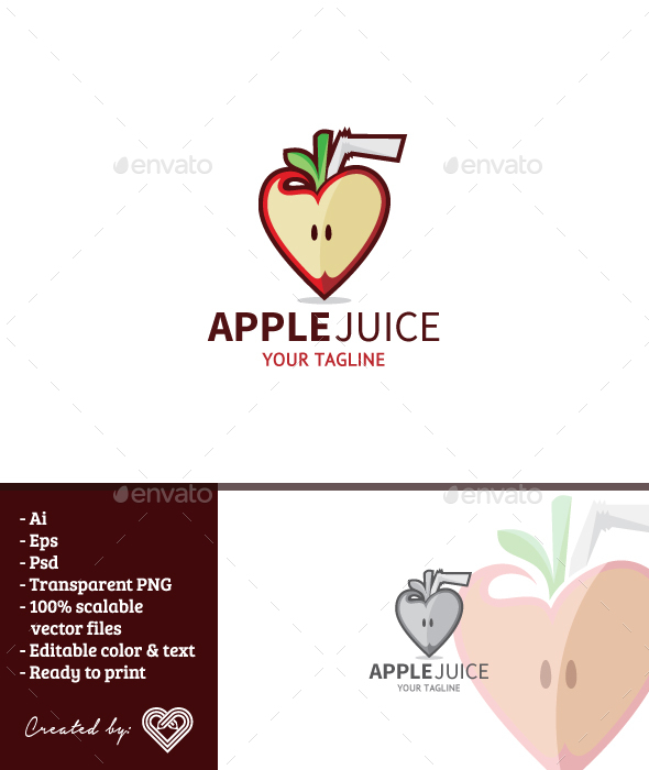 GraphicRiver Apple Juice 20810883