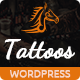 Tattoos - WordPress Theme - ThemeForest Item for Sale