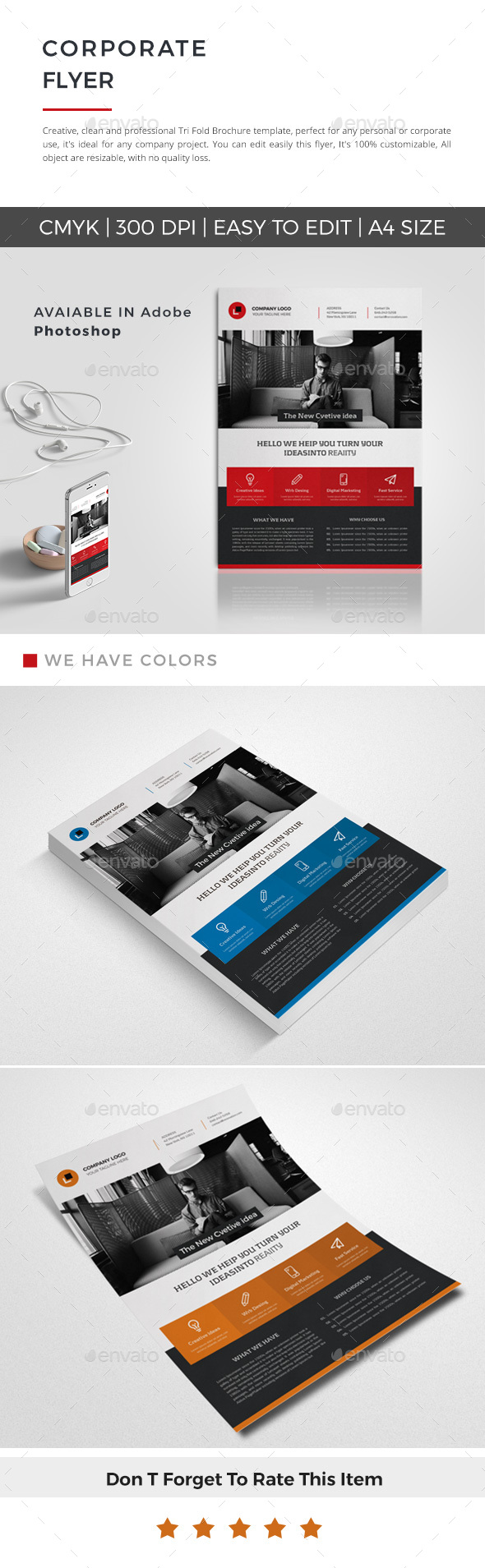 GraphicRiver Corporate Flyer 20811037