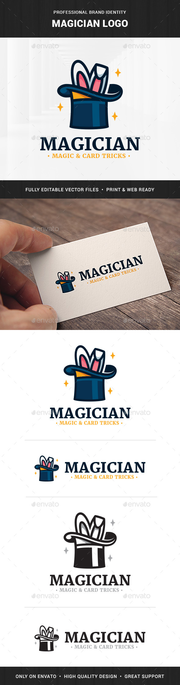 GraphicRiver Magician Logo Template 20811053