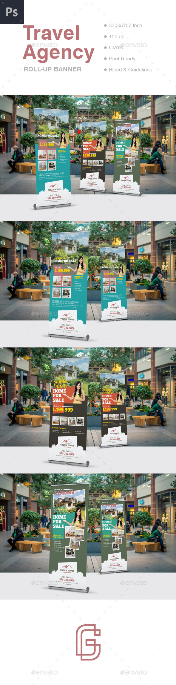 GraphicRiver Real Estate Roll-Up Banner Template 20811181