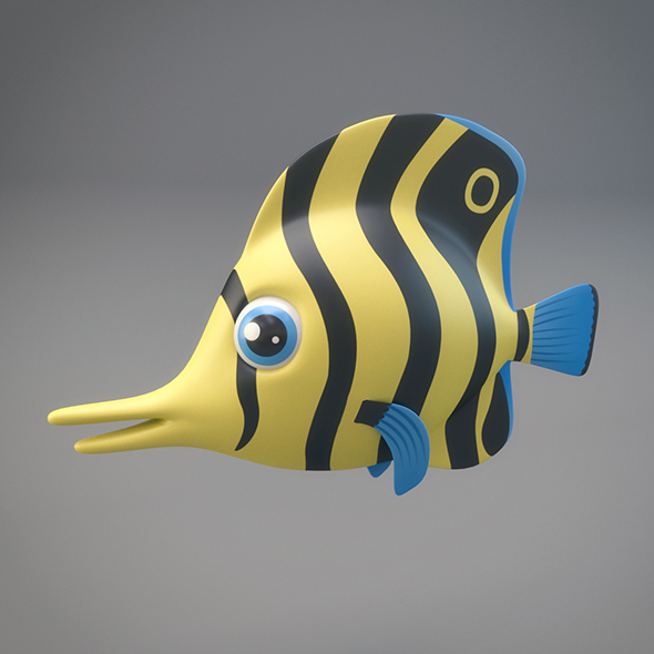 3DOcean Cartoon Fish 20811267