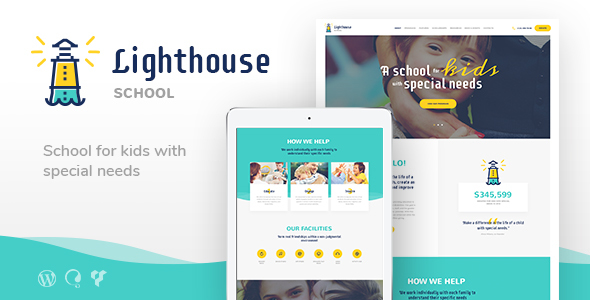 Lighthouse | School for Kids with Special Needs - Education WordPress