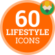 Icons Pack Lifestyle People Life Flat Animated Icons