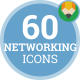Icons Pack Marketing Client Networking Flat Animated Icons