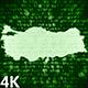 Turkey Map Digital 4K (2 in 1)
