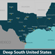 Deep South United States - GraphicRiver Item for Sale
