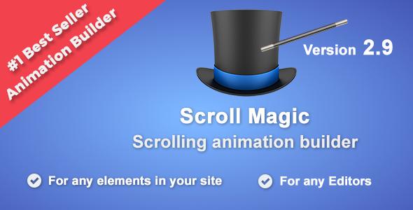 Scroll Magic - Scrolling Animation Builder Wordpress Plugin - CodeCanyon Item for Sale