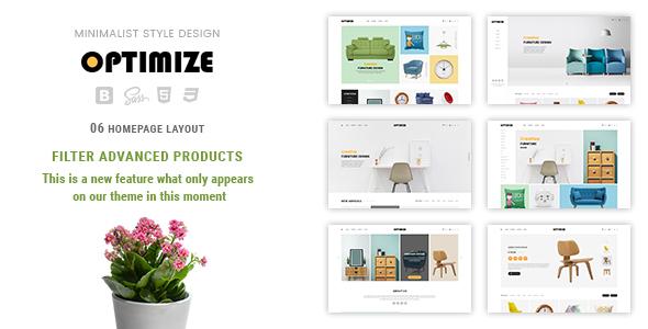 Image of Optimize - Minimalist, Facilitate Responsive PrestaShop 1.7 Theme For Furniture, Decor, Interior