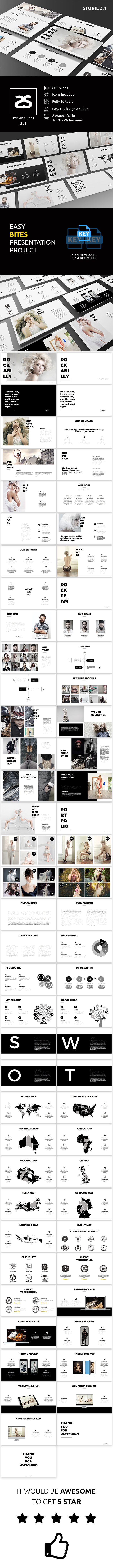 GraphicRiver Fashion Keynote Template 3.1 20811558