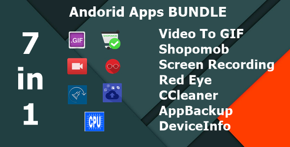 Video To GIF|Shopomob - The  E- Commerce Template|Screen Recording|Red Eye|CCleaner|AppBackup|Device - CodeCanyon Item for Sale