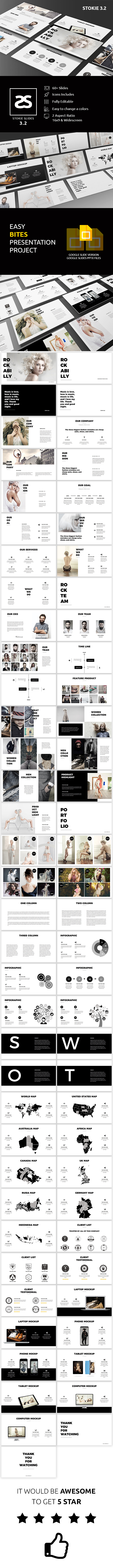 GraphicRiver Fashion Google Slide Template 3.2 20811650