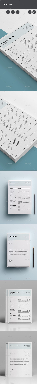 GraphicRiver Resume 20811784