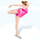 Winter Sports Female Figure Skating - GraphicRiver Item for Sale