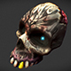 low_poly_skull - 3DOcean Item for Sale