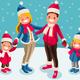 Christmas 2018 Family Wishes Illustration