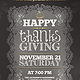 Thanksgiving Invitation Flyer Template - GraphicRiver Item for Sale