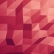 Red Orange Polygonal Geometric Surface