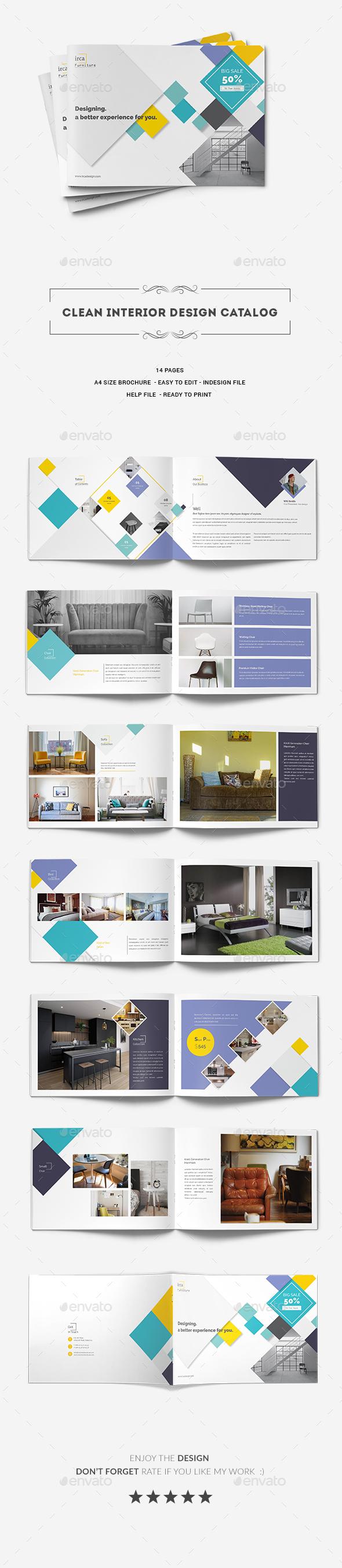 Clean Interior Design Catalog - Catalogs Brochures
