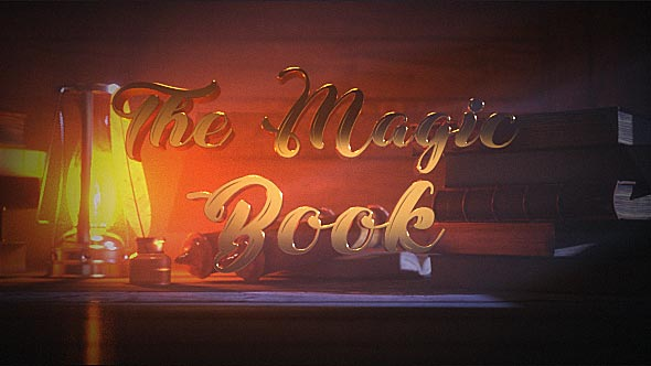 Videohive The Magic Book 20812856