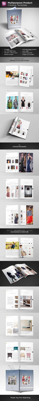 GraphicRiver Multipurpose Product Catalog 20812923