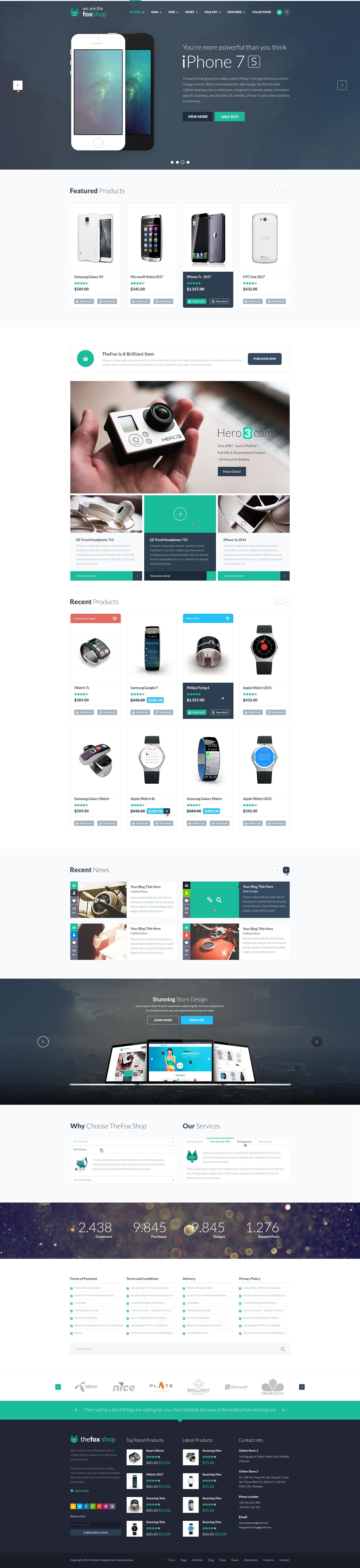 TheFox   Multi-Purpose PSD Template by tranmautritam   ThemeForest
