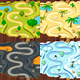 Four Level Maps - GraphicRiver Item for Sale