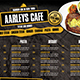 Cafe Menu Board - GraphicRiver Item for Sale