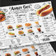Doodle Cafe Menu Board - GraphicRiver Item for Sale