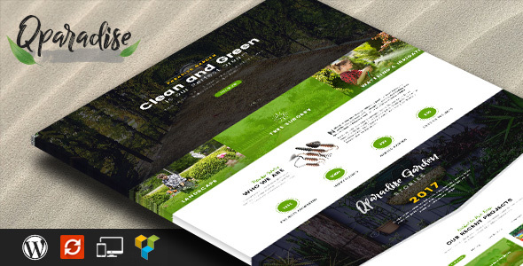 Image of QParadise - Responsive WordPress Theme