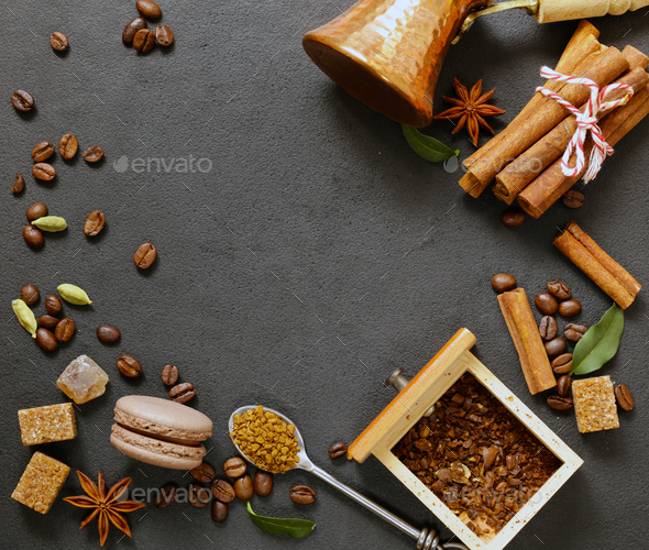 Coffee Still Life - Stock Photo - Images