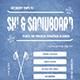 Ski & Snowboard Flyer/Poster - GraphicRiver Item for Sale