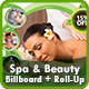 Spa & Beauty Billboard | Roll-Up Banner Templates