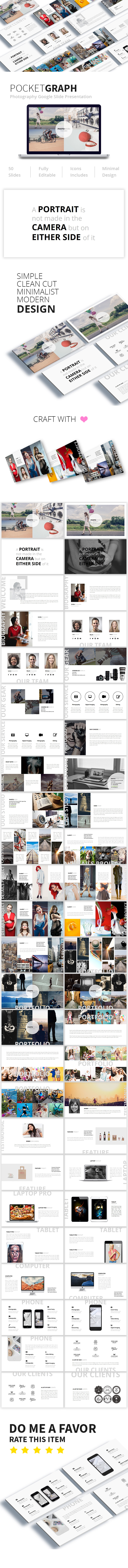 Pocketgraph Photography Google Slide  Presentation - Google Slides Presentation Templates