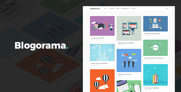 Blogorama - A Responsive WordPress Blog Theme - Personal Blog / Magazine