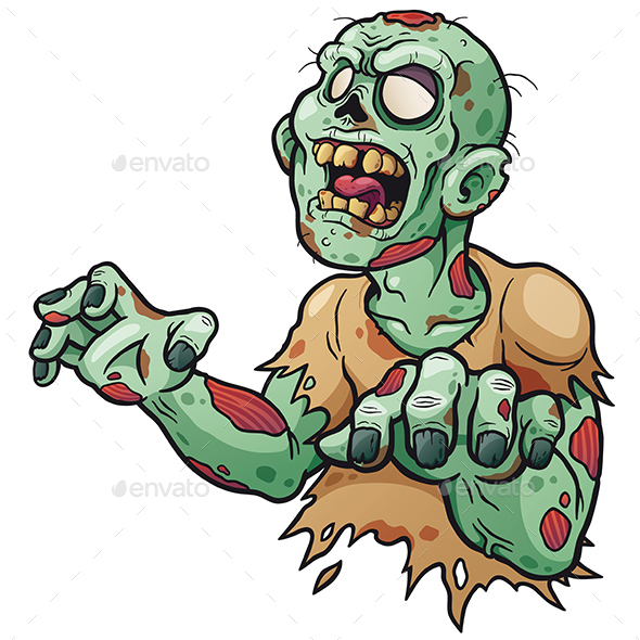 Zombie - Monsters Characters
