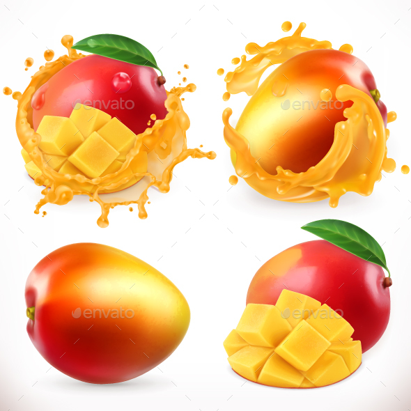 GraphicRiver Mango Juice 20814669