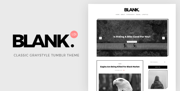 Download Blank | Gray-style Classic Tumblr Theme            nulled nulled version