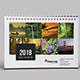 Desk Calendar for 2018   Updated - GraphicRiver Item for Sale