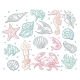 Seamless Pattern Sea Animal