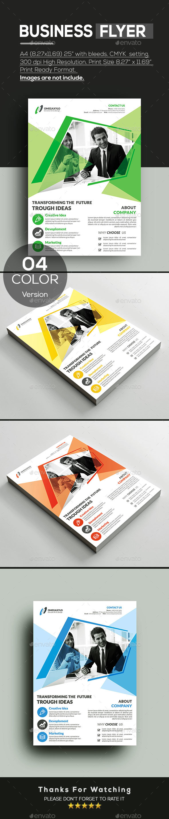 GraphicRiver Business Card 20815131