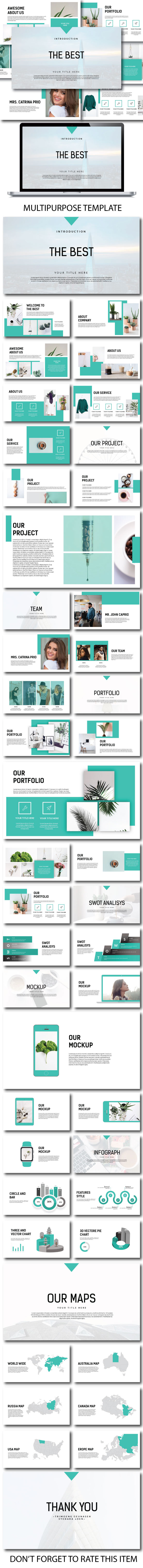 The Best - Creative Keynote - Keynote Templates Presentation Templates