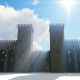 Castle and Sun - VideoHive Item for Sale