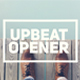Upbeat Opener - VideoHive Item for Sale