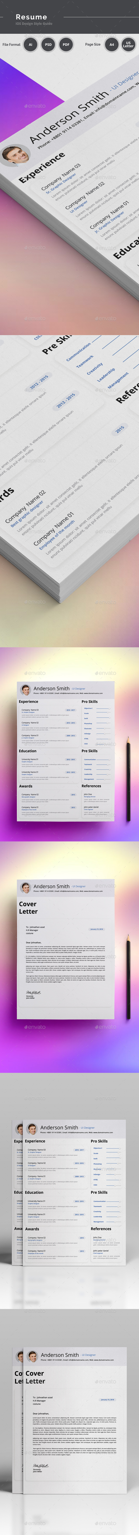GraphicRiver Resume 20815318